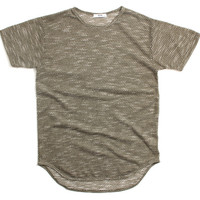 Summer Fatty Loop Long T-Shirt Olive