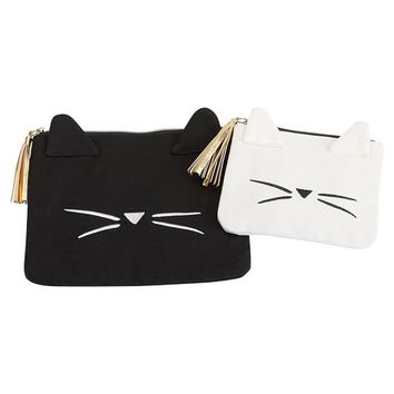 Emily & Meritt Cat Shaped Pouch, Set of 2