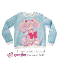 [Princess-misery Design] Sailor Moon Sailor Chibi Moon Fleece Jumper SP151670