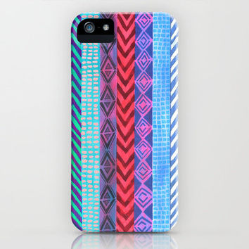 PATTERN {Peru Stripe} iPhone & iPod Case by Schatzi Brown
