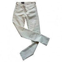 Cropped medium rise skinny jeans, size 24 CITIZENS OF HUMANITY White