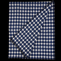 UNIONMADE - GIFTSHOP - Eleanor Pritchard Signal Blanket in Dark Navy and White