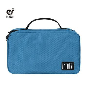 CREYON5U Ecosusi 2017 Waterproof Portable Man Toiletry Bag Women Cosmetic Packing Organizers Pouch Hanging Wash Bags
