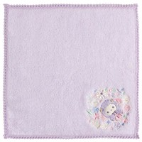 Sentimental Circus mini Towel Lavender Sleeping Forest Sheep San-X Japan - VeryGoods.JP