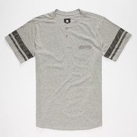 Element Bravado Mens Henley Heather  In Sizes