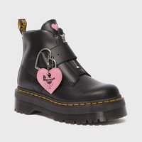 Dr. Martens x Lazy Oaf Buckle Boot
