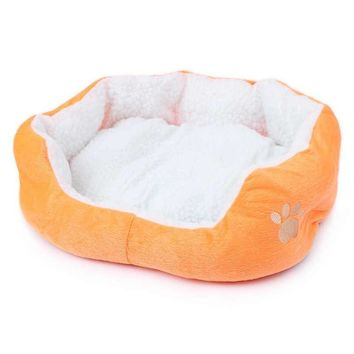 Soft Warm Pet Bed Winter House for Cats Puppy Small Medium Dog Sofa Cotton Bed Comfortable Pet Mats Random Color