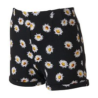 About A Girl Cuffed Ponte Shorts - Juniors