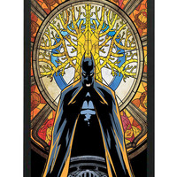 Batman Superhero Stained Glass iPhone 6 Cases - Hard Plastic, Rubber Case