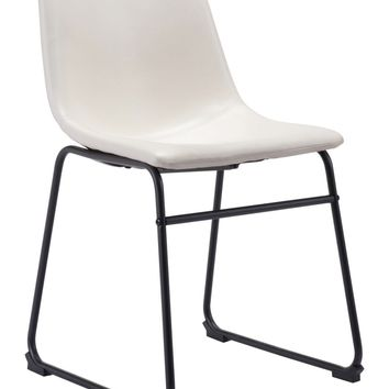 Smallart Dining Chair Distressed White