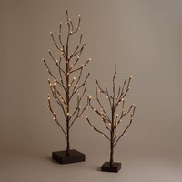3' LED 72-Bulb Battery Operated Holiday Tree