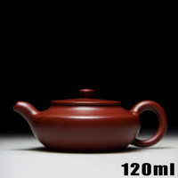 [Bouns 3 cups] Authentic Yixing Kung Fu Tea Set Teapots 120ml Chinese Handmade Zisha Ceramic Sets Porcelain Kettle High-grade