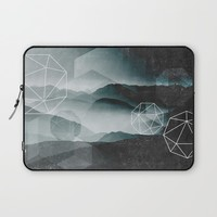 Winter Mountains Laptop Sleeve by Cafelab