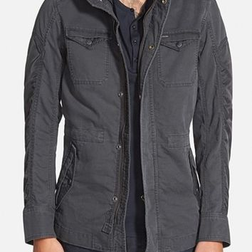 Men's DIESEL 'Niraw' Twill Military Jacket,