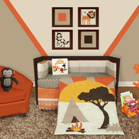African Dream 5 or 6 Piece Crib Bedding Collection w/ Storybook