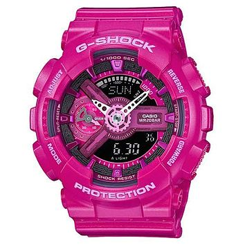 Casio G-Shock S Series - Pink - Magnetic Resistant - 200M - Date - Stopwatch