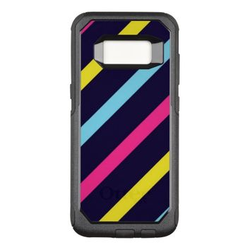 Stripes OtterBox Commuter Samsung Galaxy S8 Case