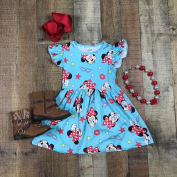 BLOW OUT! RTS Whimsical Girls Mouse Dress D-15