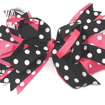 Girls Jumbo Floppy Boutique Hair Bow