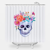 Flower Crown Shower Curtain