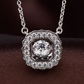 Sparkling Luxury Premium Limited Edition Swarovski Crystal Necklace