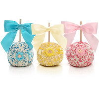 New Baby Baby Shower Chocolate Favor Apples