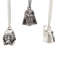 Star Wars Empire Helmets Necklace Set