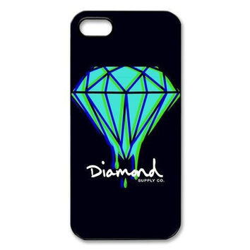 Diamond Supply co Phone 4 4S 5 5S 5C 6 6s 6 PLUS 6s plus Black Case Cover Tiffany & Co