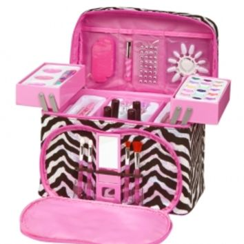 Zebra Sequin Mega Make-up Kit