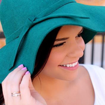 Central Park Hat - Emerald