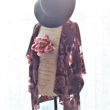 Forever 21 Kimono robe, Gypsy soul, moon child, true rebel clothing