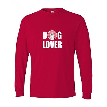Shih Tzu  Long Sleeve Red Unisex Adult Small