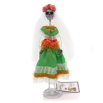Halloween Day Of The Dead Skeleton Halloween Figurine