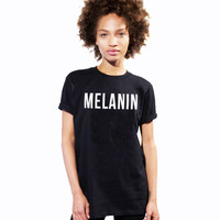 MELANIN Women's Casual T-Shirt