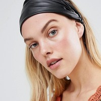 Liars & Lovers PU headband at asos.com