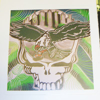 Grateful Dead Steal Your Eagle Vinyl Sticker