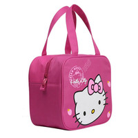 13*25*23cm Cute Hello Kitty Bags For Mother Animal Thermos Baby Bottle Covers Huggers Doraemon Maternity Mother Lunch Food Bags
