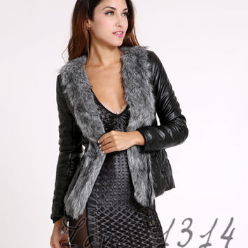 Gilet Outerwear Leather Coat