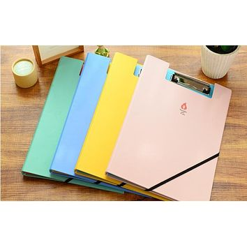 Stationery cute animals A4 folder papers papers folder plywood office supplies