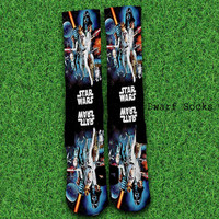 Custom-Star-Wars Socks,Custom socks,Personalized socks,Elite socks