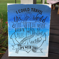 Anchor Quote Canvas