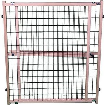 North States 4614 Expandable Wire Mesh Pet Gate, Extra Wide
