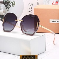Miu Miu Fashion New Polarized Travel Sunscreen Eyeglasses Glasses