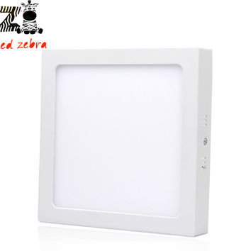 2835smd led downlights,6w 12w 18w 24w led panel lights surface mounted led panel square led ceiling lights AC85-265V