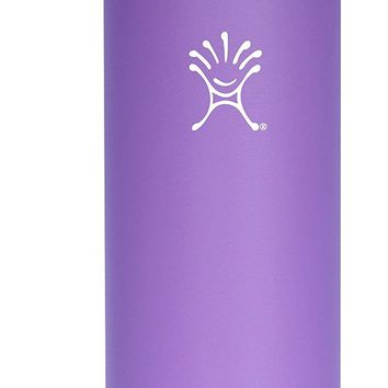32-Ounce Hydro Flask Insulated Wide Mouth Stainless Steel Water Bottle