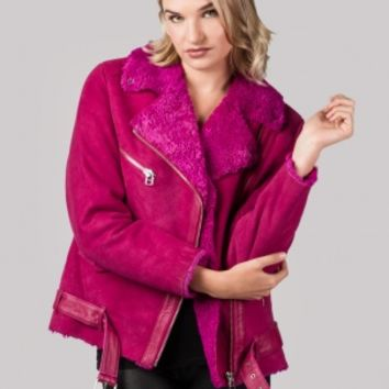 Pink Babe Coat by American Retro - ShopKitson.com