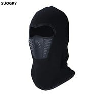 SUOGRY Balaclava Ski Mask Windproof Ski Cap for Skiing & Snowboarding & Cycling