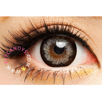 Royal Vision Girly Chip Sesame Gray Circle Lenses Colored Contacts Cosmetic Color Circle Lens | EyeCandy's