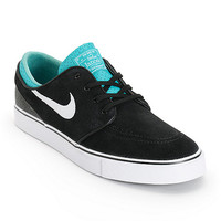 Nike SB Zoom Stefan Janoski Black, White, & Turbo Green Skate Shoe