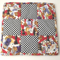 Olivia Ostrich Play Mat, Trivet, Hot Pad, Mini-Quilt, Trivet, Hot Pad -Quilted